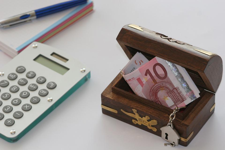 eura v truhličce