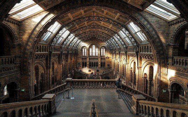 londýnské muzeum