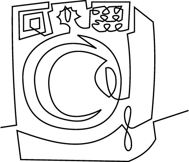 rozbitá pračka