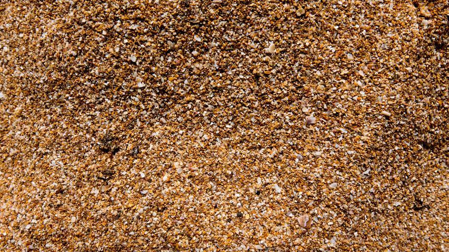 písek zrnitý