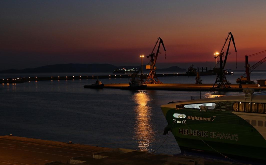 přístav v Heraklionu
